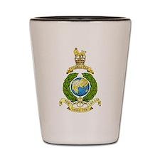 Royal Marines Shot Glass