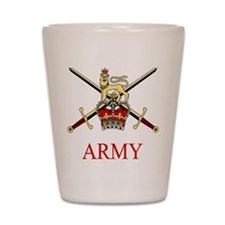 British Army Shot Glass