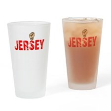 Jersey Thing - dk Drinking Glass