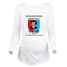DUI-2ND IN DIV-2 BCT Long Sleeve Maternity T-Shirt