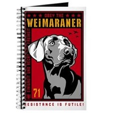 Obey the Weimaraner! Journal