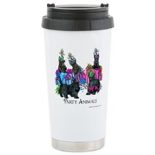Scottish Terrier Party Travel Mug