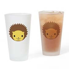 Hedgehog Drinking Glass