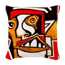 KAFKA writer Woven Throw Pillow