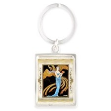 Keepsake 7 july ADF-Phoenix Portrait Keychain