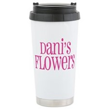 big pink Ceramic Travel Mug