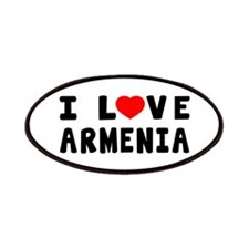 I Love Armenia Patches