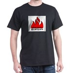 BURN BABYLON Dark T-Shirt
