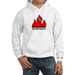 BURN BABYLON Hooded Sweatshirt