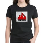 BURN BABYLON Women's Dark T-Shirt