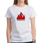 BURN BABYLON Women's T-Shirt