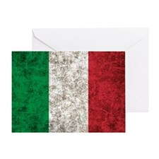 Italian Flag Greeting Card