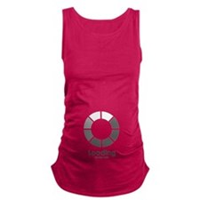 New baby loading Maternity Tank Top