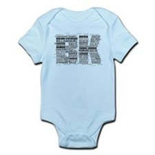 Brooklyn BK Text Art Body Suit