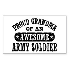 Proud Army Grandma Decal