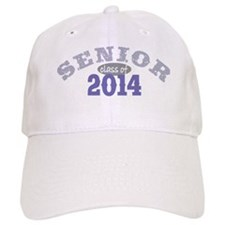 Senior 2014 Purple 2 Baseball Cap