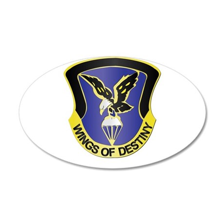 DUI - 101st Aviation Brigade 35x21 Oval Wall Decal