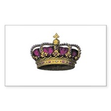 Vintage Pink Crown Decal