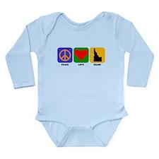 Peace Love Idaho Body Suit