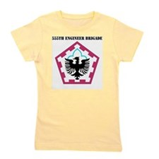 555 ENGINEER BRIGADE WITH TEXT Girl's Tee