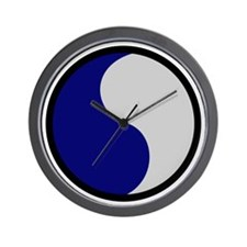 29th Infantry Division Wall Clock