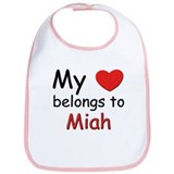 My heart belongs to miah Bib