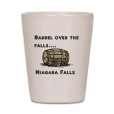 barrel Shot Glass