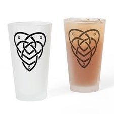 motherhood black Drinking Glass