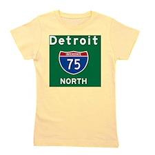 Detroit 75 Rec Mag Girl's Tee
