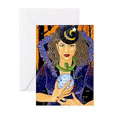 Esme the Fortune Teller Greeting Card