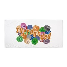 Surrounded by Yo-Yos Beach Towel