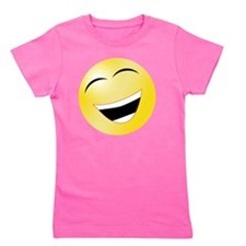 10x10 Smiley Girl's Tee