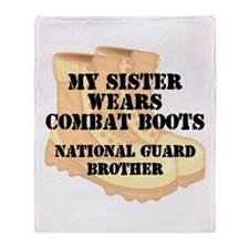 National Guard Brother Sister Desert Combat Boots