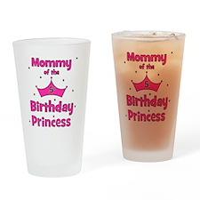 ofthebirthdayprincess_5th_mommy Drinking Glass