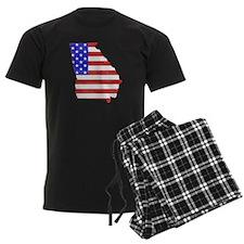 Georgia Flag Pajamas