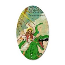 jesus raptor Wall Decal