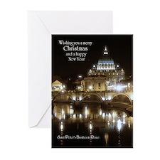 Rome Vatican Christmas Cards (10-pk) Greeting Card