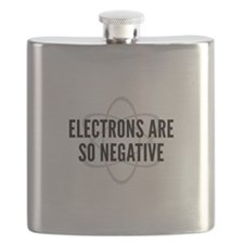 Electrons Are So Negative Flask