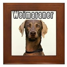 THE Weimaraner Framed Tile