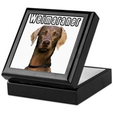 THE Weimaraner Keepsake Box