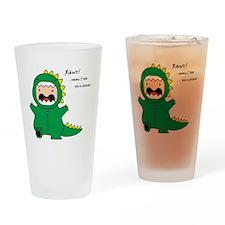 Rawr! Drinking Glass