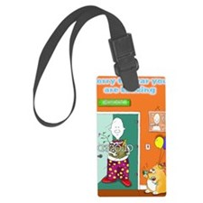 sorry to hear you are leaving of Luggage Tag