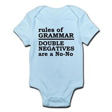 Rules Of Grammar Infant Bodysuit