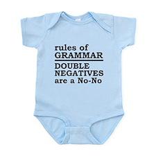 Rules Of Grammar Onesie