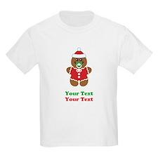 Personalize Gingerbread Santa Baby T-Shirt
