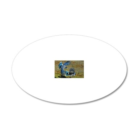 note card -front 4 20x12 Oval Wall Decal