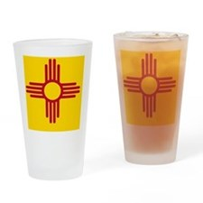 nm-flag Drinking Glass