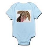 Silly Weimaraner Infant Bodysuit