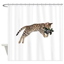Cat Leap - Shower Curtain