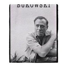 BUKOWSKI BY SAM CHERRY Throw Blanket